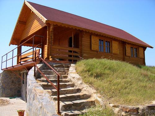 Casas campestres madera