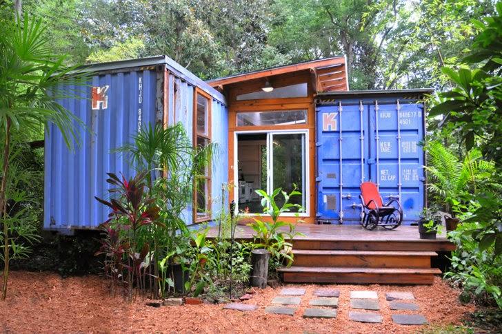 Casas container artista