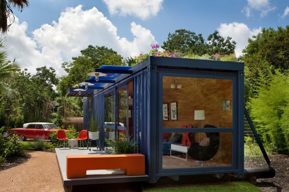 Casas container ejemplos