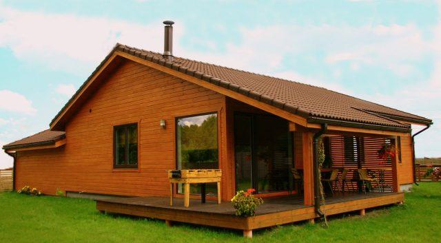 Casas de madera precios for Precios de bares de madera