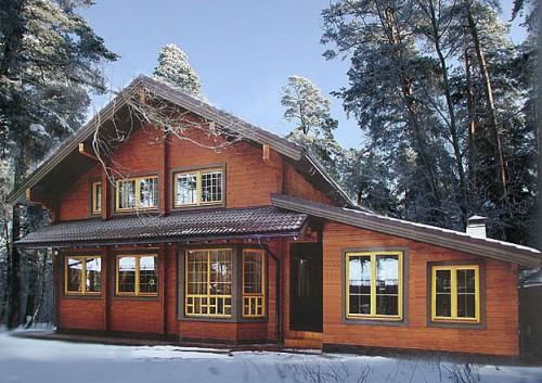 Casas de madera prefabricadas - Casa madera economica ...