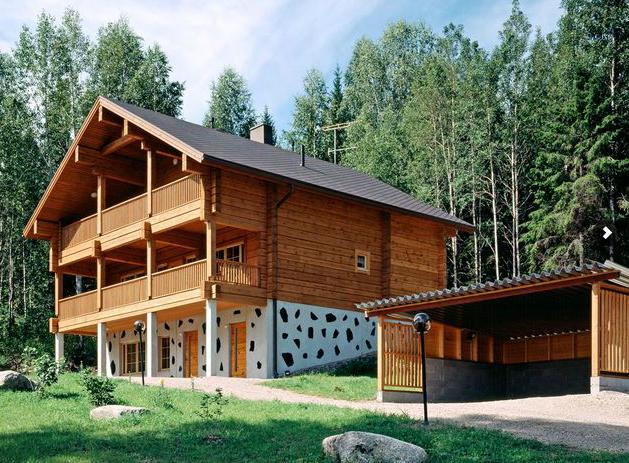 Casas - Casas piedra y madera ...