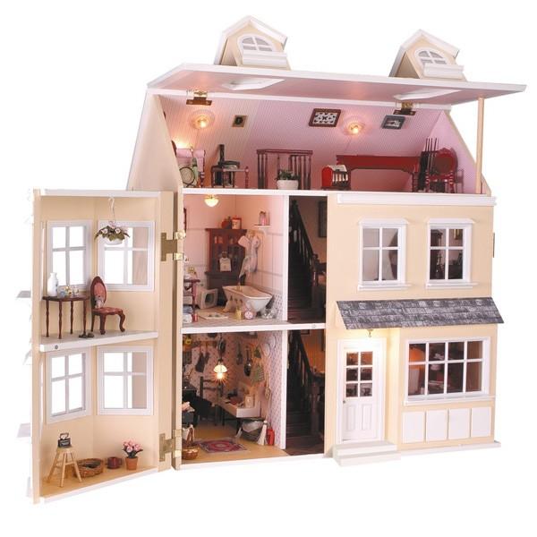 Casas de muñecas muestra
