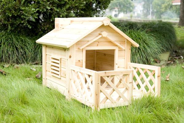 Casas de perros Casas para perros de madera
