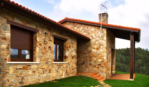 Casas de piedra planos arquitectonicos - Construccion casa de piedra ...