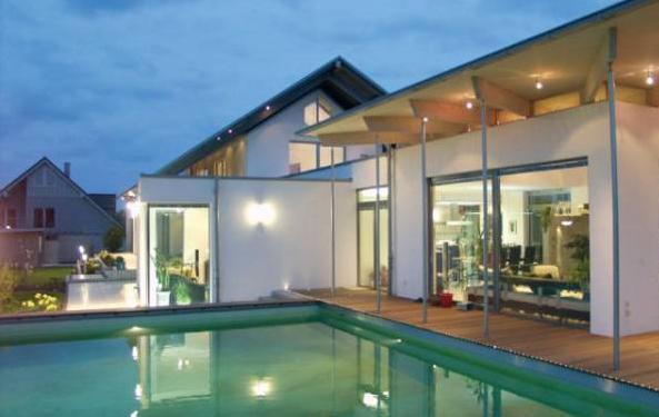 Casas inteligentes modernas