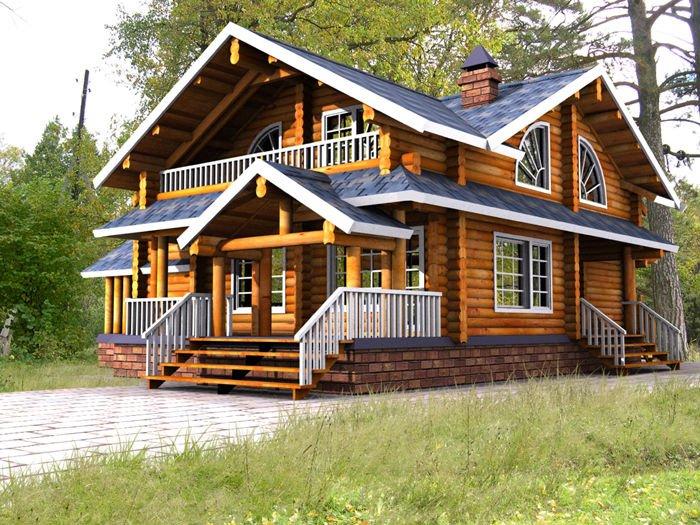 Casas de madera - Imagenes de casas de madera ...