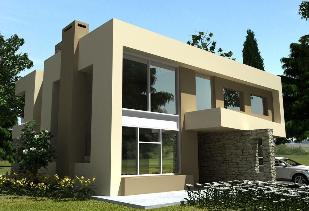 Casas minimalistas for Viviendas minimalistas