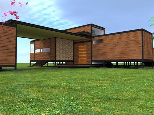 Casas modulares - Casas prefabricadas rurales ...