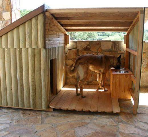 Casas para perros - Casa perros madera ...