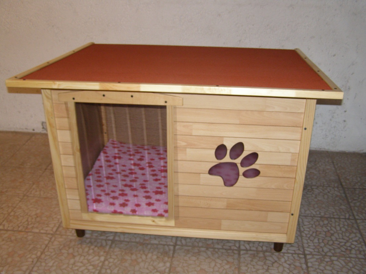 Casas para perros for Construir casa de perro