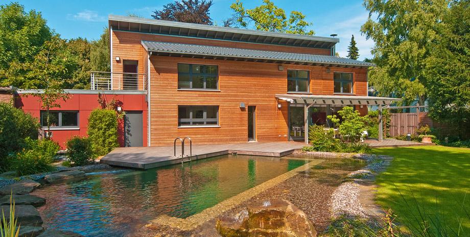 Casas prefabricadas de madera lindas