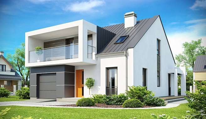 Casas prefabricadas ejemplo hormigon