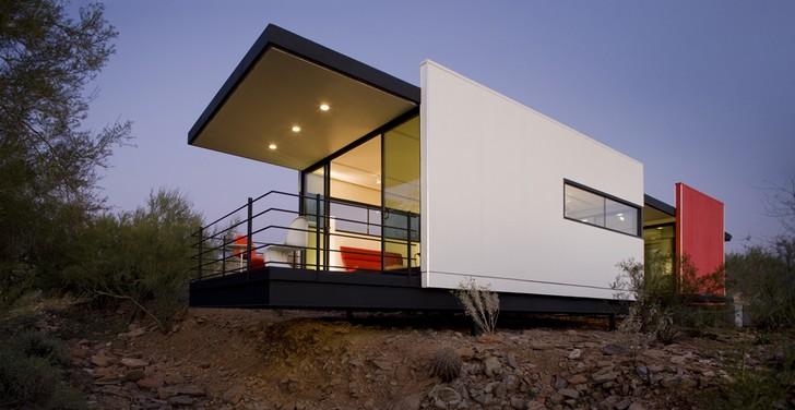Casas prefabricadas modernas ejemplos