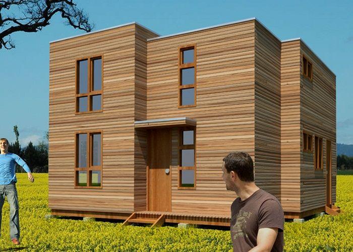 Casas prefabricadas economicas planos arquitectonicos for Casas prefabricadas modernas