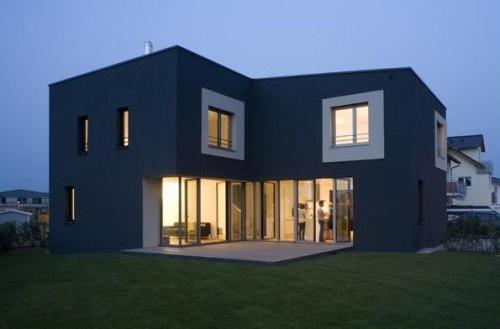 Colores para fachadas azules