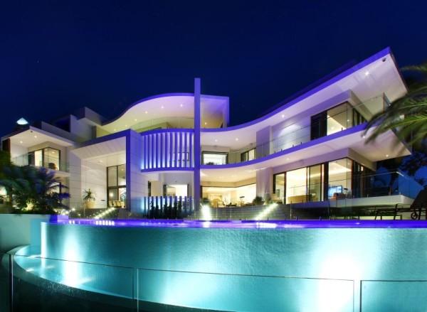 Diseños de casas modernas lujopsas