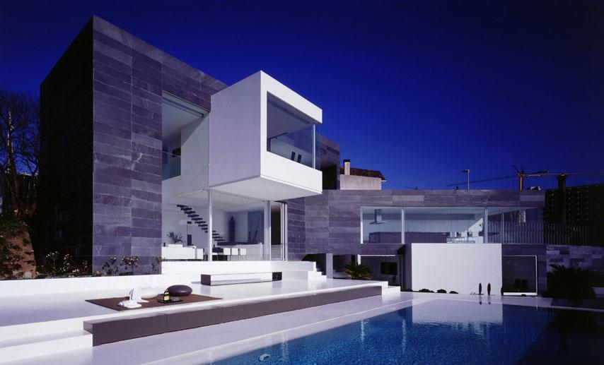 Diseños de casas piscina