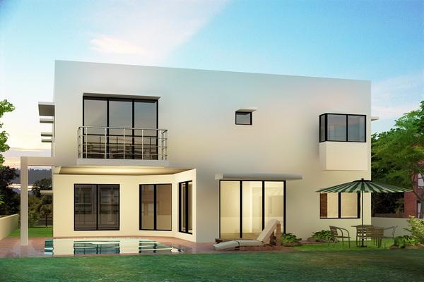 Casas minimalistas for Casas minimalistas planos arquitectonicos