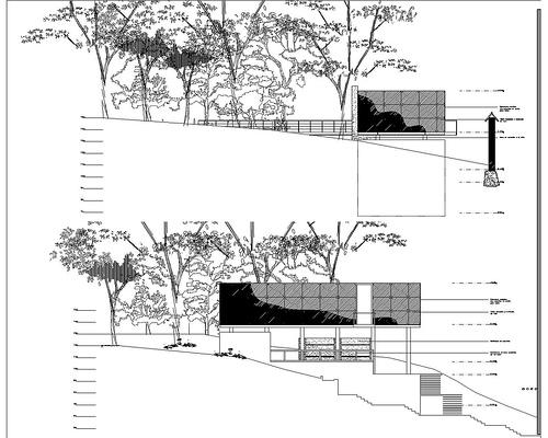 Fachadas arquitect nicas for Fachadas en planos arquitectonicos