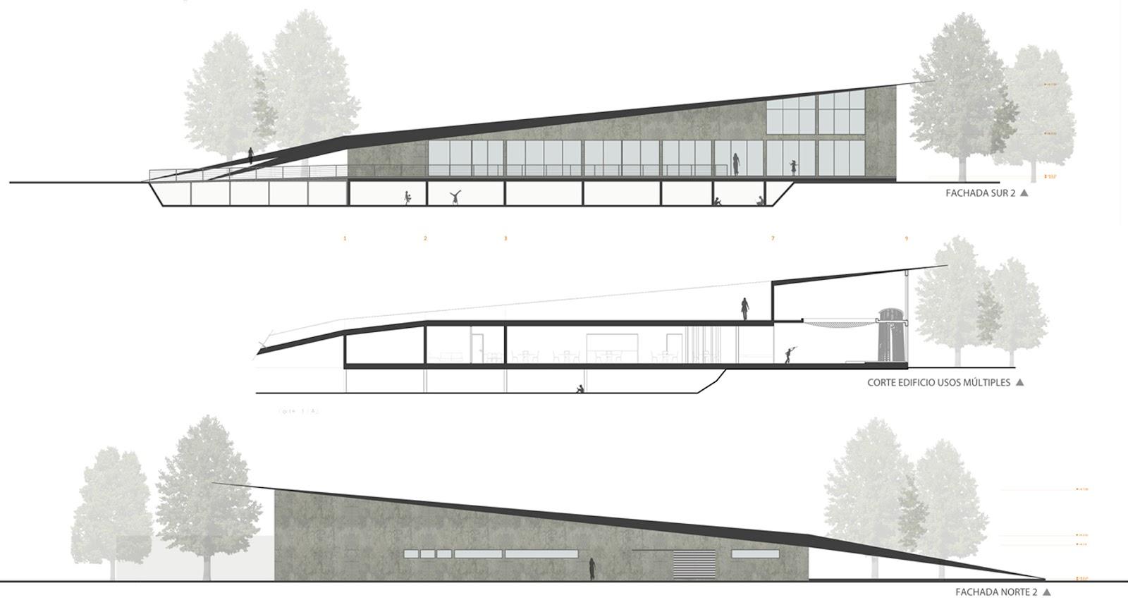 Fachadas arquitect nicas for Planos de fachadas