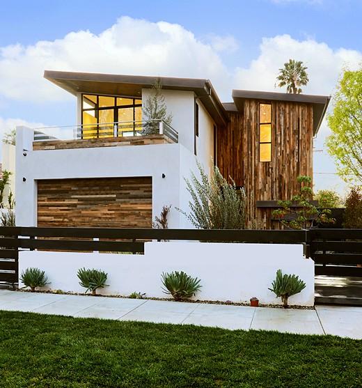 Fachadas de casas de dos plantas for Viviendas de dos plantas