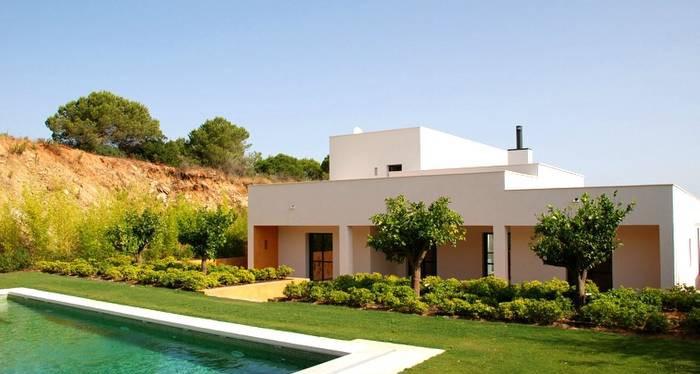 Fachadas casas modernas con jardin