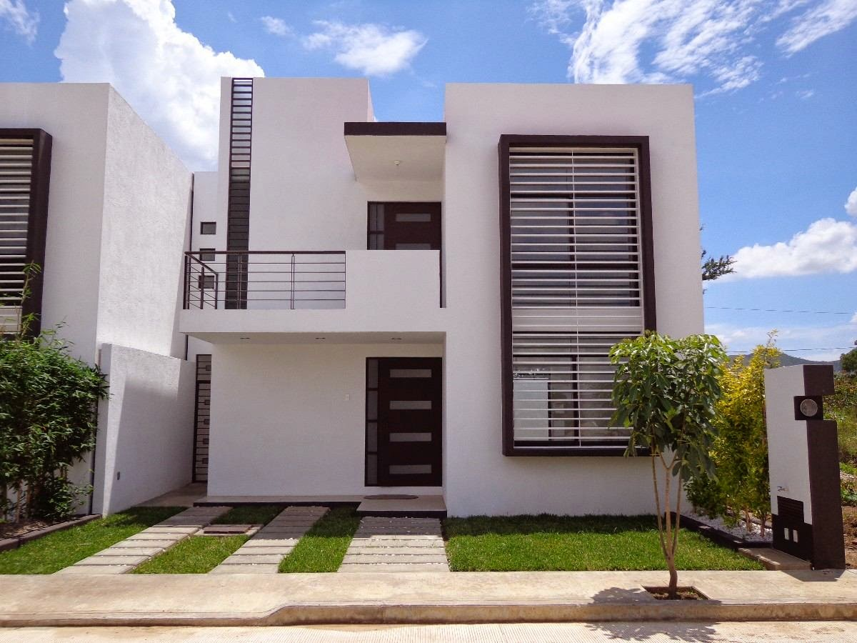 Fachadas casas modernas for Fachadas de casas de 3 pisos modernas