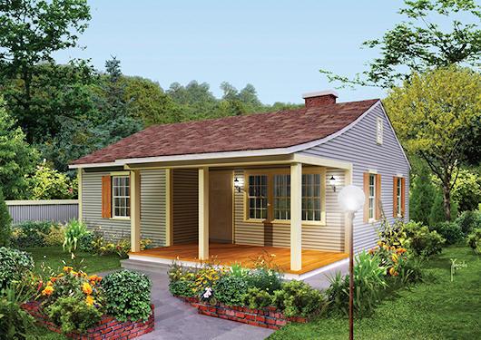 Fachadas casas pequeñas gratis