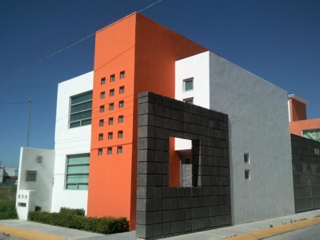 Fachadas casas for Colores en casas minimalistas