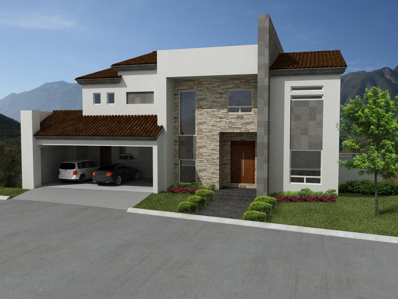 Fachadas de cantera for Planos terrazas exteriores