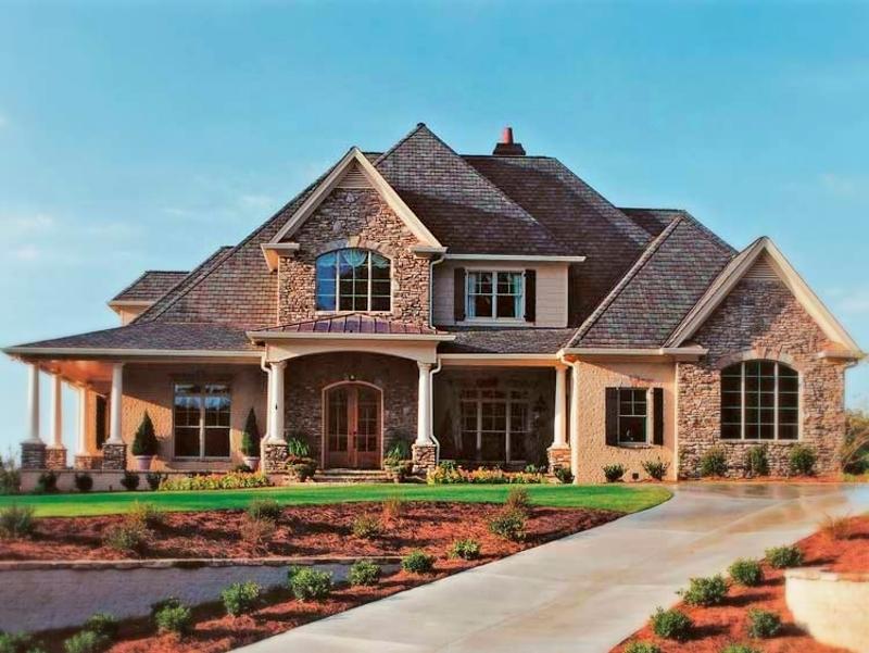 Fachadas de casas 2 pisos