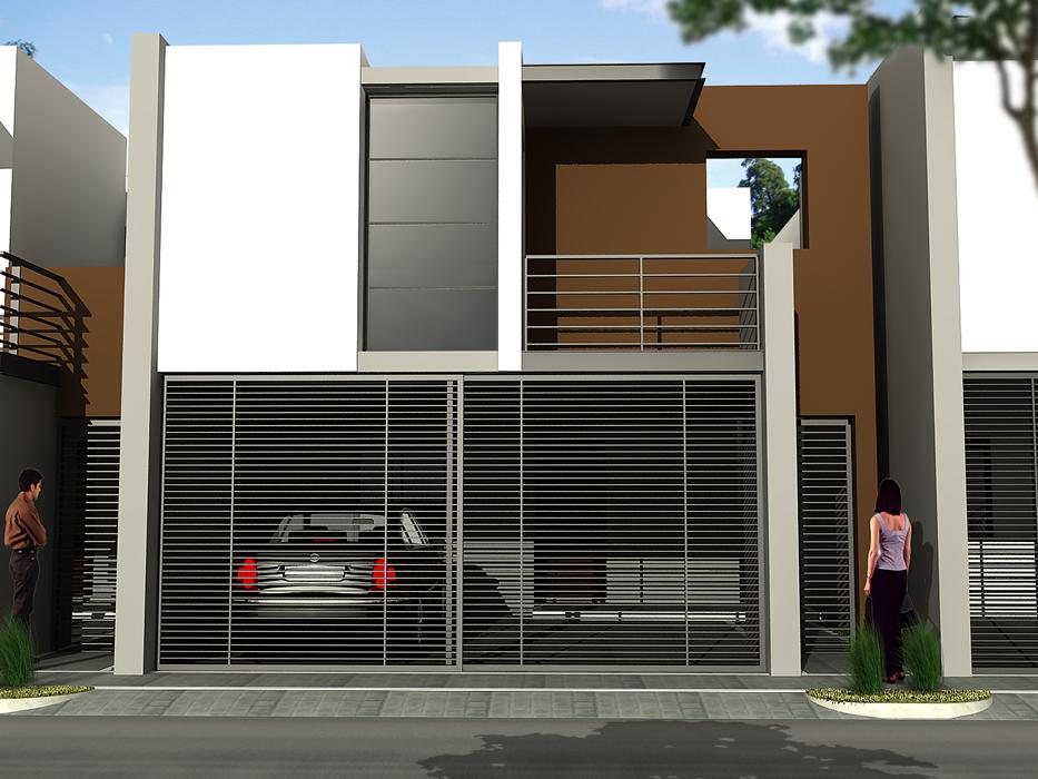 Fachadas de casas minimalistas