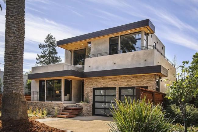 Fachadas casas modernas - Piedras rusticas para fachadas ...