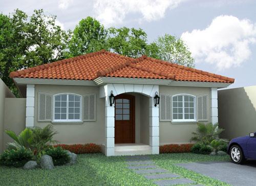 Fachadas de casas sencillas - Fachadas de viviendas sencillas ...