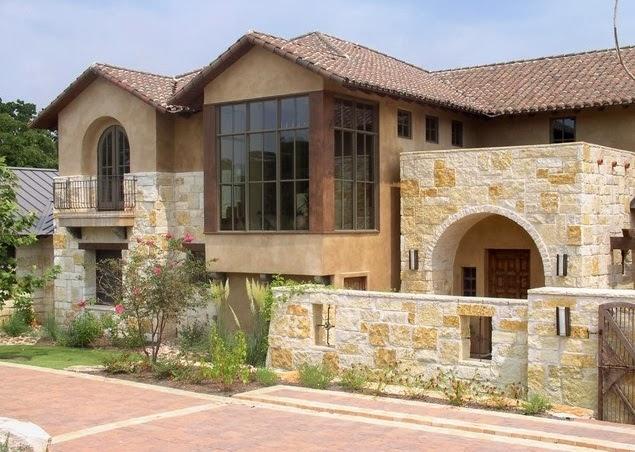 Fachadas de piedra - Casas decoradas con piedra natural ...