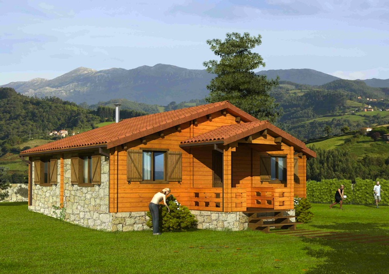 Fotos de casas - Fotos de casas de campo de madera ...