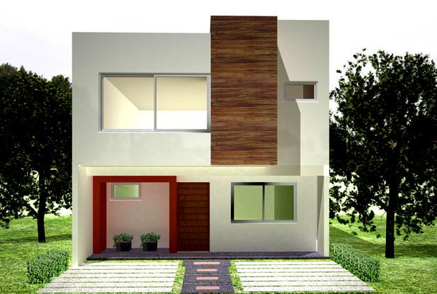 Frentes de casas for Casas disenos fachadas
