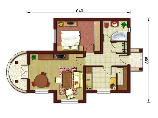 Planos de viviendas for Planos de casas rusticas gratis
