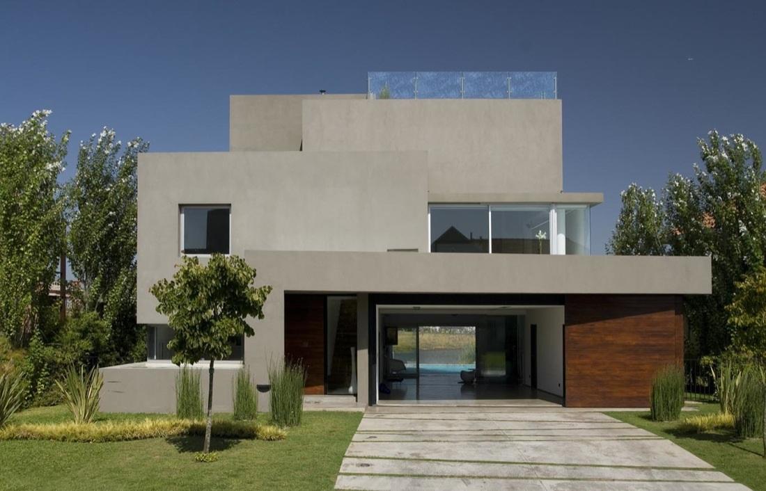 Imagenes de fachadas de casas for Fachadas de viviendas modernas
