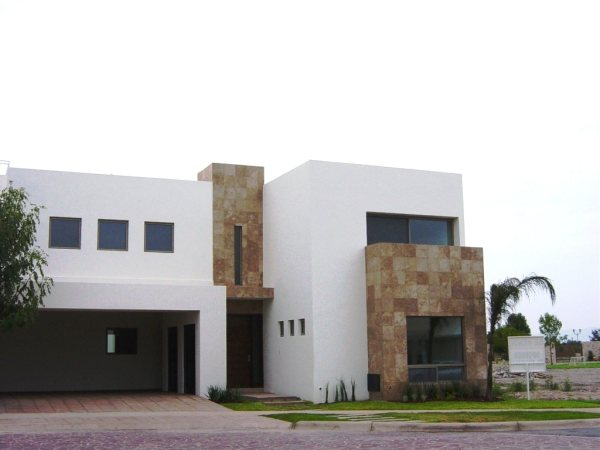 Fachadas de casas minimalistas for Colores en casas minimalistas