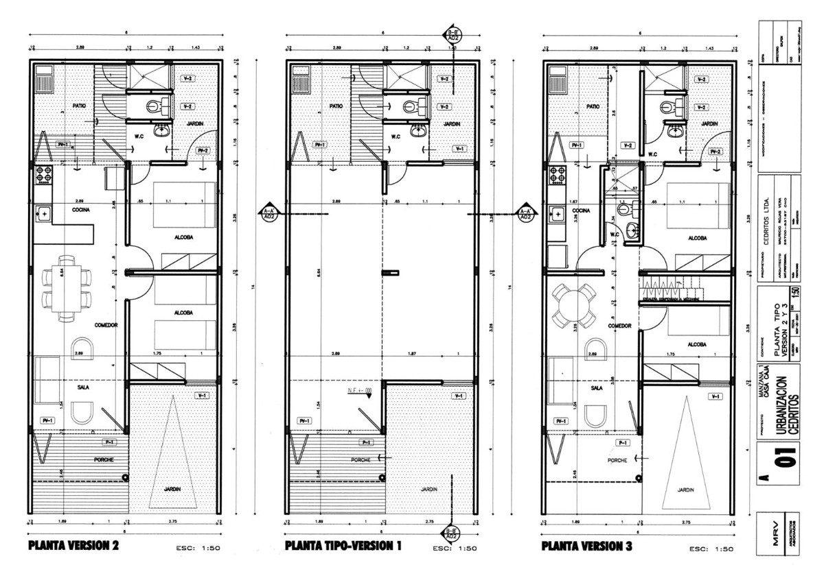 Planos arquitect nicos for Planos arquitectonicos de casas
