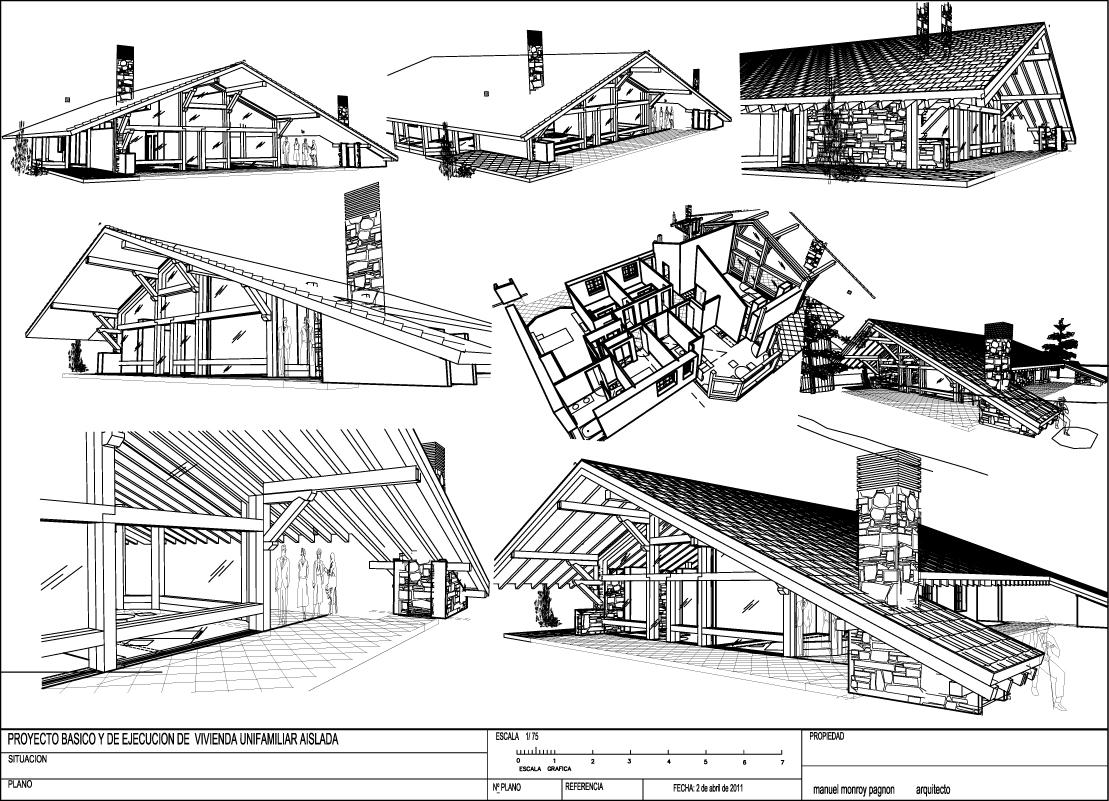 Planos casas campo