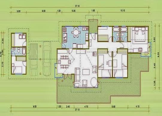 Planos casas modernas for Planos de casas de campo gratis
