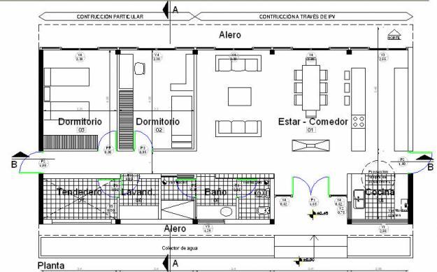 Planos de arquitectura for Arquitectura de casas modernas planos