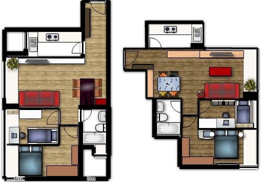 Planos de casas de una planta for Ver planos de casas de una planta