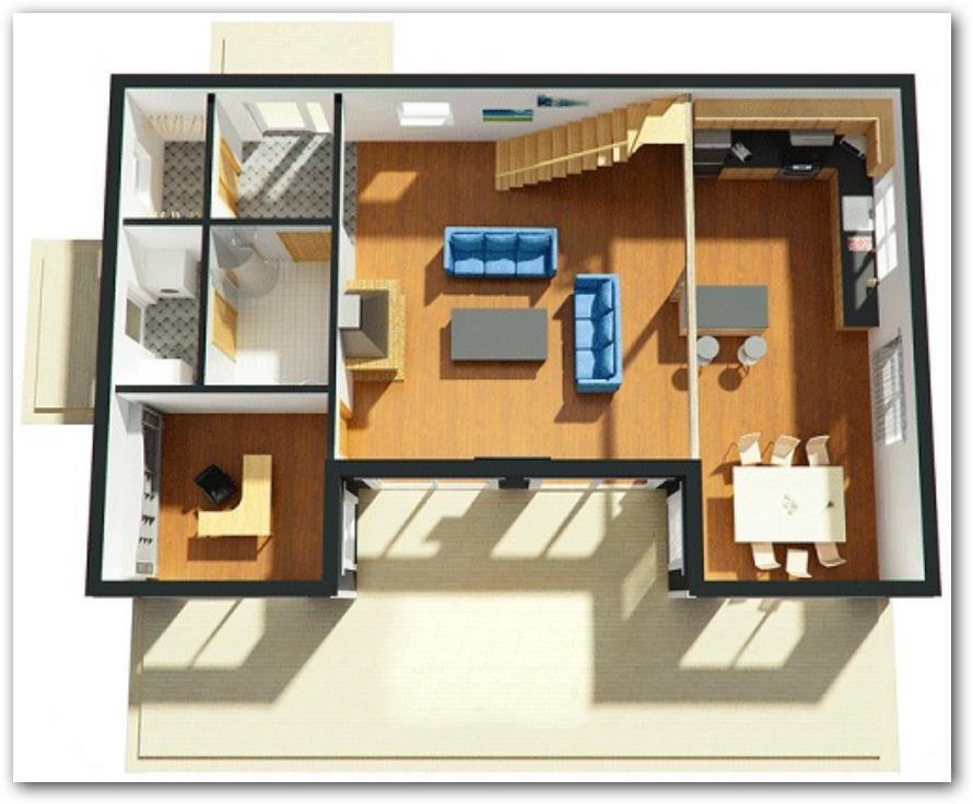 Planos de casas modernas for Planos casas pequenas modernas