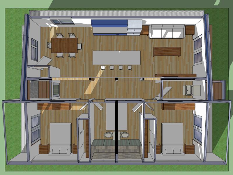 Planos de casas for Planos arquitectonicos de casas