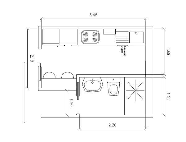 Planos de cocinas for Planos de cocina industrial