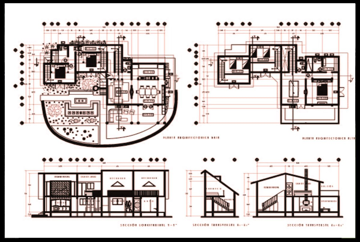 Planos de construcci n for Niveles en planos arquitectonicos